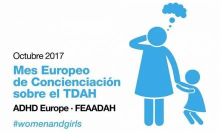 Octubre: Mes Europeo de Concienciación del TDAH