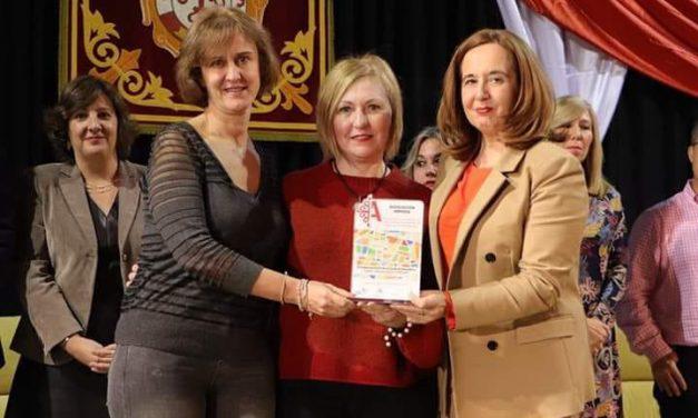 """AMHIDA recoge el Reconocimiento """"Por su trabajo constante por el aprendizaje y bienestar de menores"""" otorgado por el Ayuntamiento de Argamasilla  de Calatrava"""